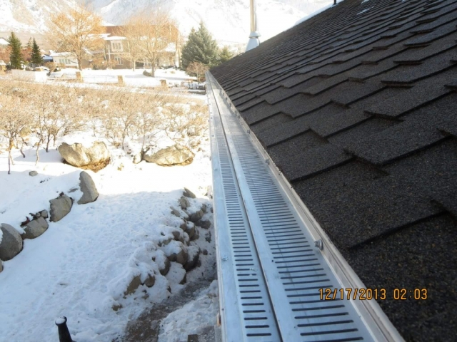 Gutter Shield and Ice Melt System Installation Handyman