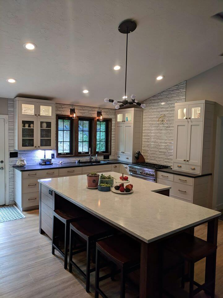 Kitchen Remodel Project Photo
