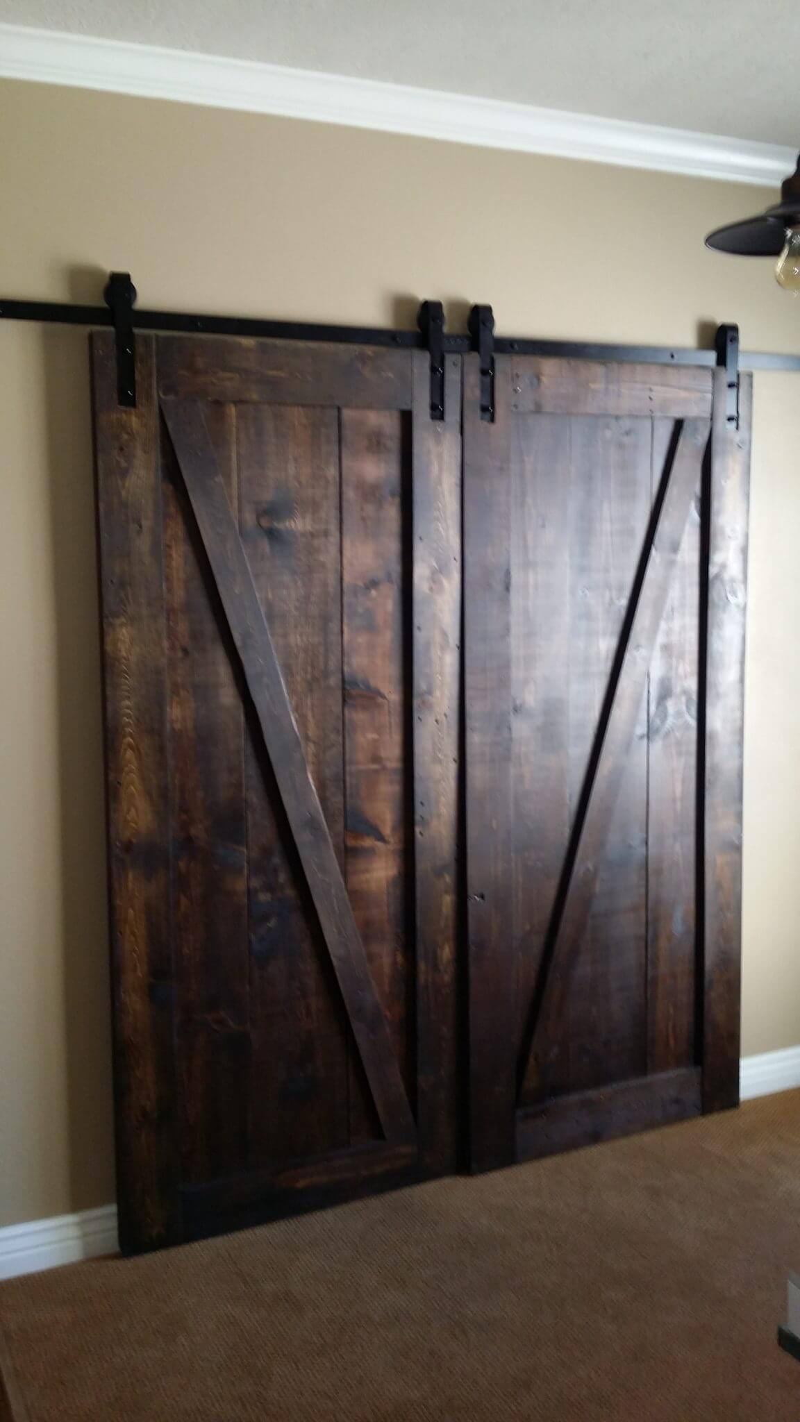 New Barn Door Installation Handyman