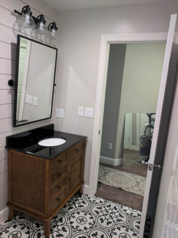 New Mirror and Lights Installation Handyman